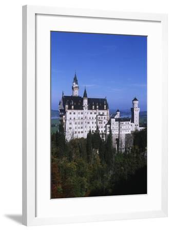 Germany, Bavaria, Neuschwanstein Castle--Framed Giclee Print