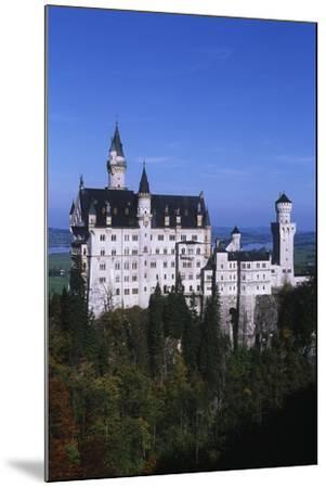 Germany, Bavaria, Neuschwanstein Castle--Mounted Giclee Print