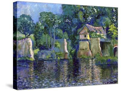 Vernon, Near Giverny, 1909-Theodore Earl Butler-Stretched Canvas Print