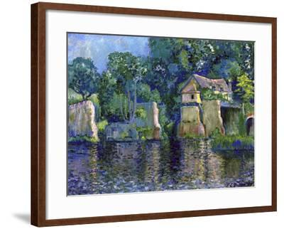 Vernon, Near Giverny, 1909-Theodore Earl Butler-Framed Giclee Print