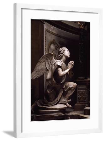Adoring Angel-Matteo Di Giovanni Civitali-Framed Giclee Print