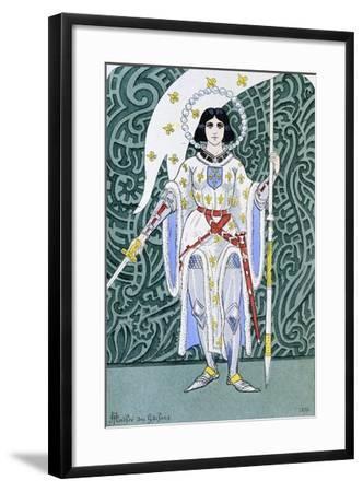 Joan of Arc--Framed Giclee Print