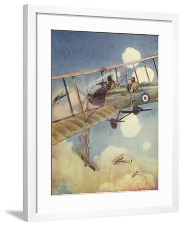 """""""Another Down!""""--Framed Giclee Print"""