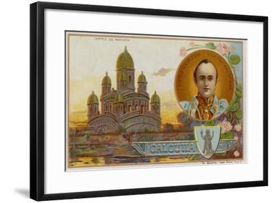 Ramnath Temple at Calcutta--Framed Giclee Print