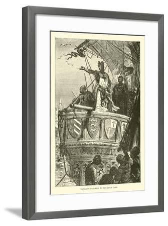 Richard's Farewell to the Holy Land--Framed Giclee Print