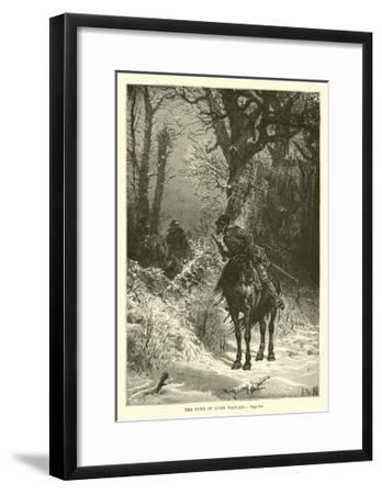 The Duke of Guise Waylaid--Framed Giclee Print