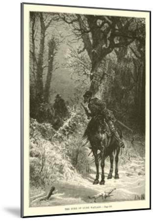 The Duke of Guise Waylaid--Mounted Giclee Print