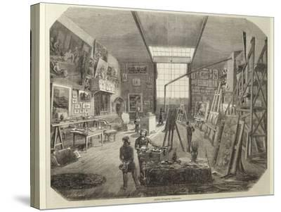 France, Studio of the Painter Eugene Delacroix--Stretched Canvas Print