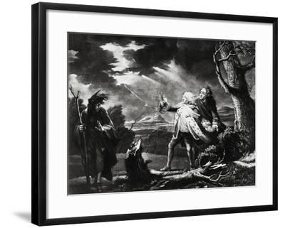 Actor David Garrik--Framed Giclee Print