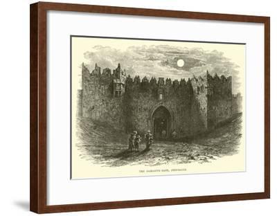 The Damascus Gate, Jerusalem--Framed Giclee Print