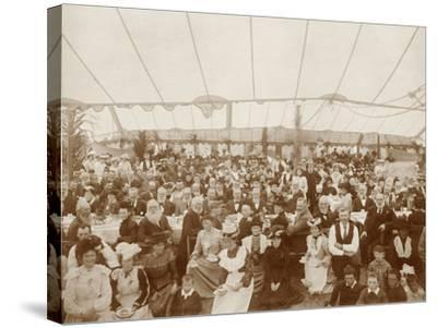Reunion Luncheon, 1st January 1903--Stretched Canvas Print