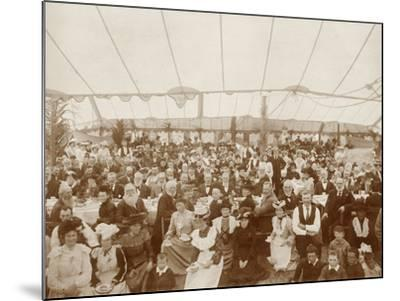Reunion Luncheon, 1st January 1903--Mounted Photographic Print