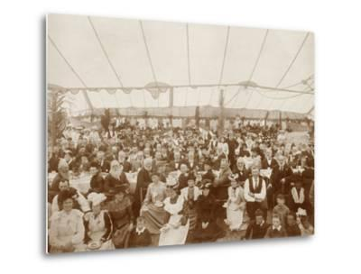 Reunion Luncheon, 1st January 1903--Metal Print