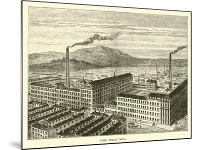 York Street Mill--Mounted Giclee Print