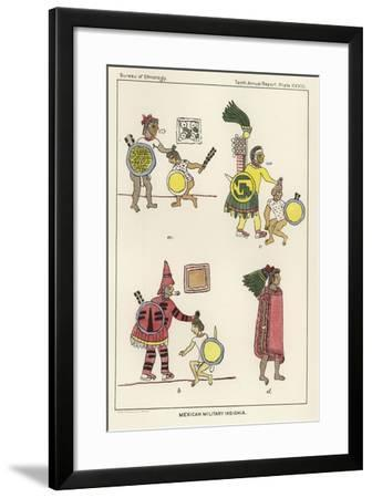 Mexican Military Insignia--Framed Giclee Print