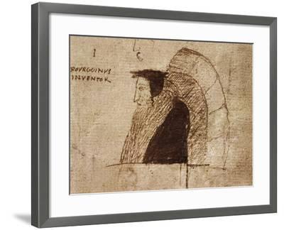 Portrait of Giovanni Calvino--Framed Giclee Print