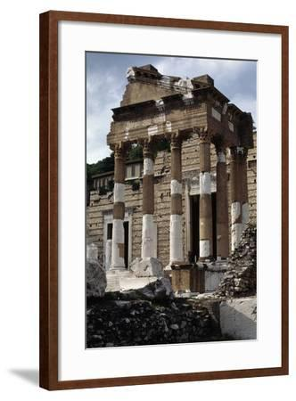 Capitolium or Capitoline Temple--Framed Photographic Print