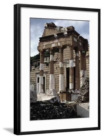 Capitolium or Capitoline Temple--Framed Photographic Print