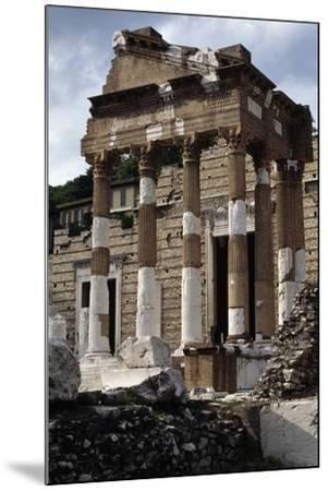 Capitolium or Capitoline Temple--Mounted Photographic Print