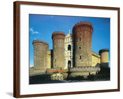 Maschio Angioino or Castel Nuovo, Naples--Framed Photographic Print