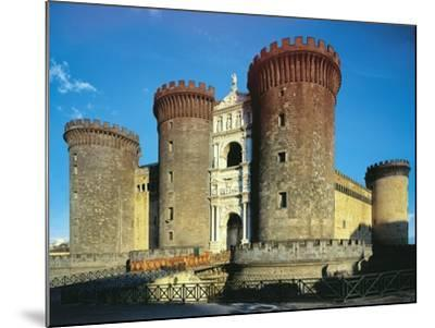Maschio Angioino or Castel Nuovo, Naples--Mounted Photographic Print