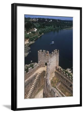 Portugal, Almourol Castle--Framed Giclee Print