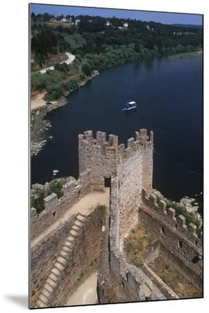 Portugal, Almourol Castle--Mounted Giclee Print