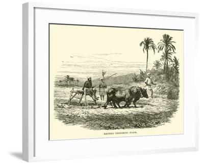 Eastern Threshing Floor--Framed Giclee Print
