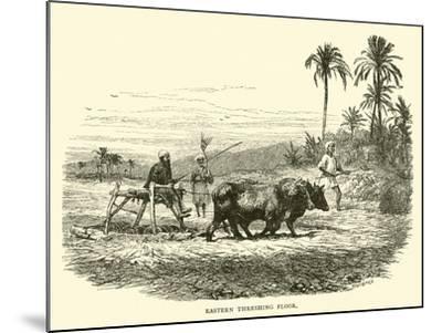 Eastern Threshing Floor--Mounted Giclee Print