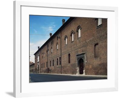 Facade, Palazzo Schifanoia--Framed Giclee Print