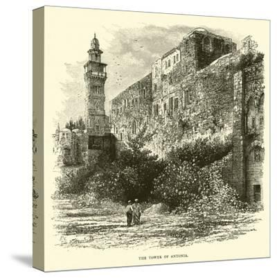 The Tower of Antonia--Stretched Canvas Print