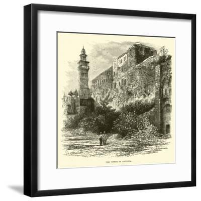 The Tower of Antonia--Framed Giclee Print