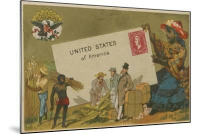 United States of America--Mounted Giclee Print