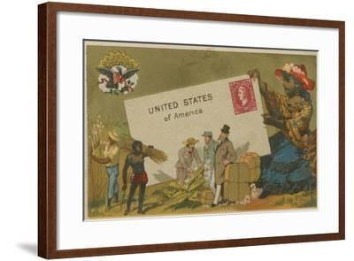 United States of America--Framed Giclee Print