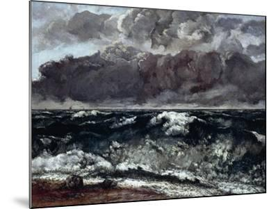 The Wave--Mounted Giclee Print