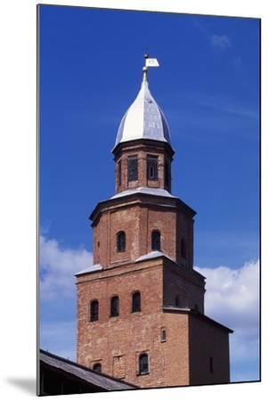 Tower on City Walls of Novgorod Kremlin--Mounted Photographic Print