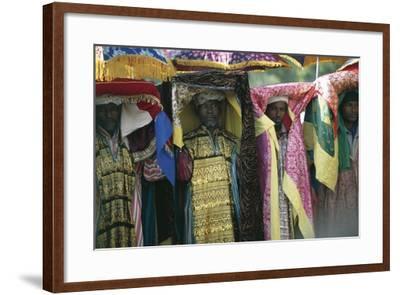 People Celebrating Timkat--Framed Photographic Print