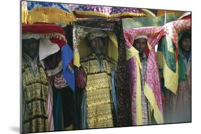 People Celebrating Timkat--Mounted Photographic Print
