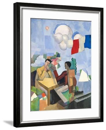 The Conquest of the Air, 1913-Roger de La Fresnaye-Framed Giclee Print