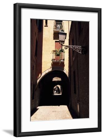 View of Via Delle Volte, Ferrara--Framed Photographic Print