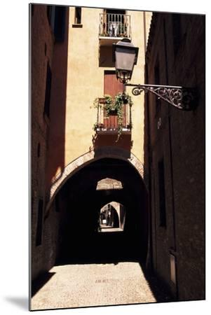 View of Via Delle Volte, Ferrara--Mounted Photographic Print