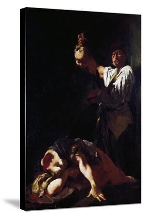 Martyrdom of Saint Eurosia-Giulia Lama-Stretched Canvas Print