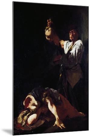 Martyrdom of Saint Eurosia-Giulia Lama-Mounted Giclee Print
