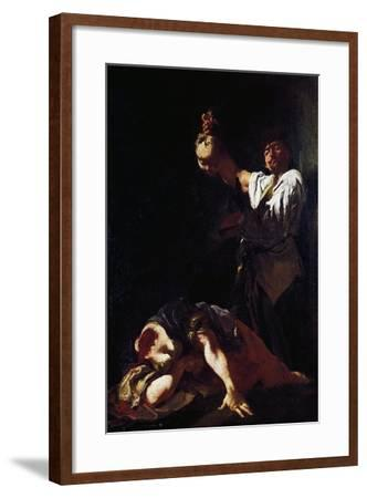 Martyrdom of Saint Eurosia-Giulia Lama-Framed Giclee Print