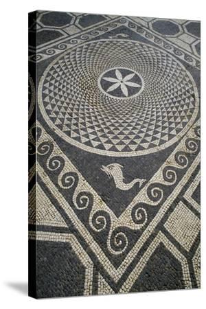 Mosaic Floor, Roman City of Emporiae--Stretched Canvas Print
