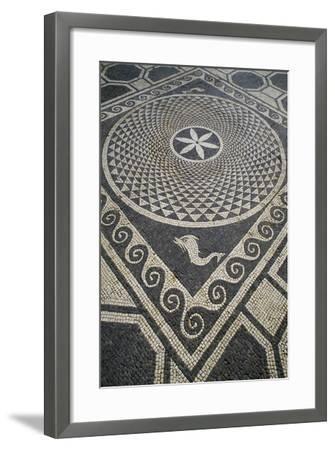 Mosaic Floor, Roman City of Emporiae--Framed Giclee Print
