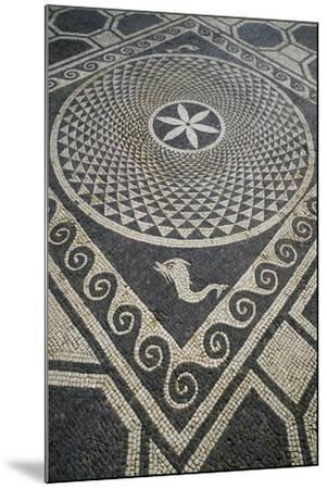 Mosaic Floor, Roman City of Emporiae--Mounted Giclee Print