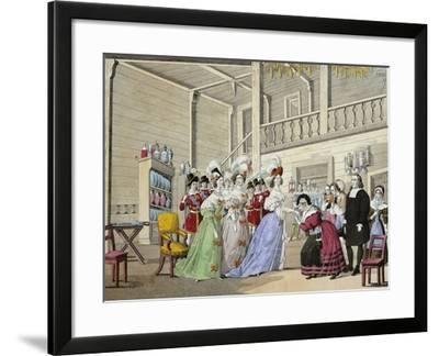 Scene from Opera I Puritani--Framed Giclee Print