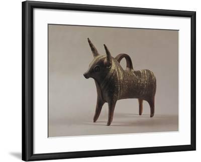 Zoomorphic Terracotta Vase from Ugarit--Framed Photographic Print