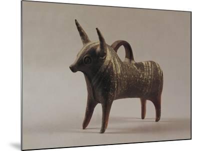 Zoomorphic Terracotta Vase from Ugarit--Mounted Photographic Print
